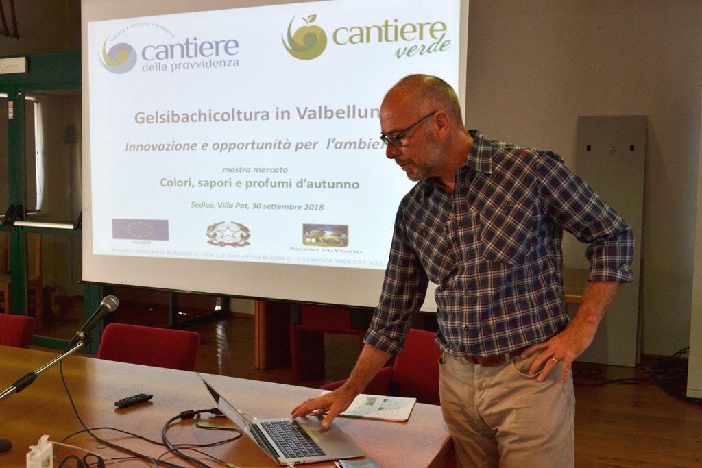 Gelsibachicoltura in Valbelluna: innovazione e opportunità per l'ambiente